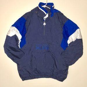 Starter Official Super Bowl 48 Jacket L Rare